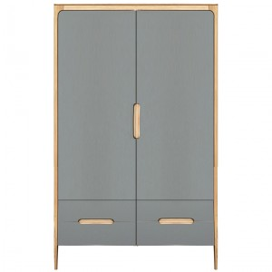 Como large wardrobe - 2 doors, 4 drawers