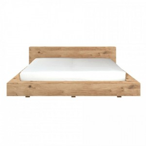 Ethnicraft Oak Madra bed | UK 6' super king | mattress size 180 x 200cm