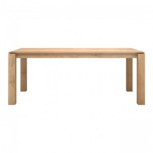 Ethnicraft Oak Slice table 150 x 150 cm