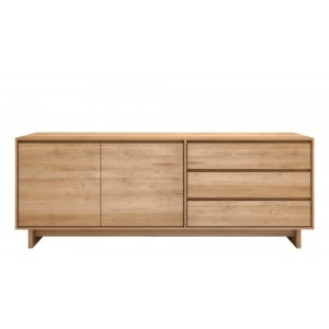 Ethnicraft Oak Wave sideboard 205cm