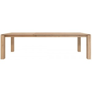 Ethnicraft Slice oak extendable dining table 160/240