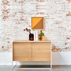 Ethnicraft Oak Monolit Sideboards