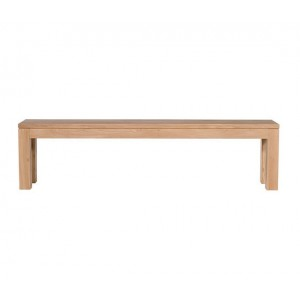 Ethnicraft Oak Straight bench 180cm