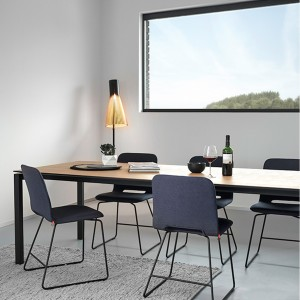 Vibe walnut dining table PM1