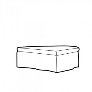 Lasa 135 footstool
