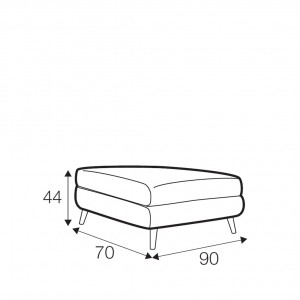 Bryce footstool