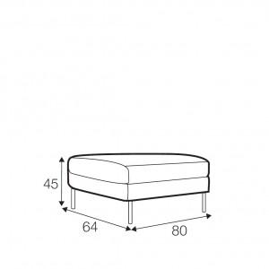 Kahlo footstool