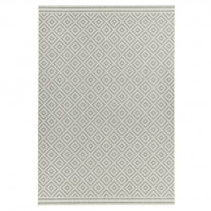 Havana indoor and outdoor diamond grey rug