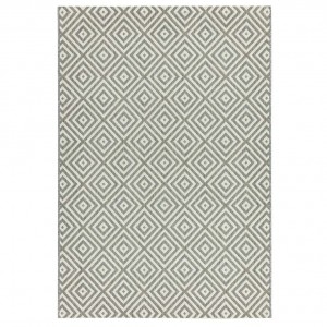Havana indoor and outdoor grey jewel rug