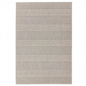 Havana indoor and outdoor beige stripe rug
