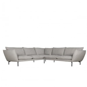 Hug corner leather sofa - set 3