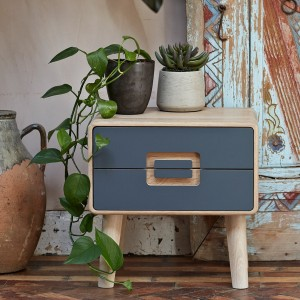 Imola 2 drawer bedside