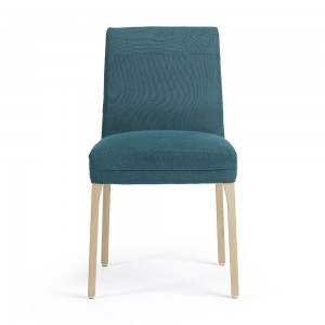 Teal colour chair