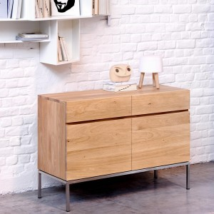 Ethnicraft Oak Ligna sideboards
