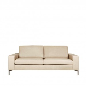 Loki 3 seater leather sofa