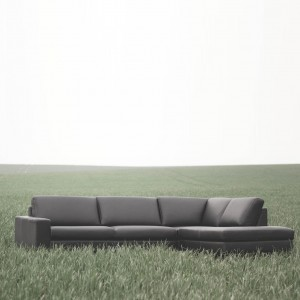 Loki corner leather sofa - set 14