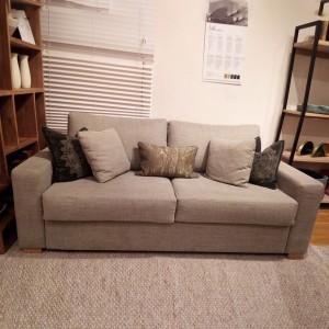 CHISWICK showroom  - Ex-display Luk sofa bed 3 seat | Caleido stampato Olive | Amrest 2  | SKU211013
