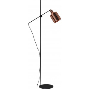 Mantis floor light - copper