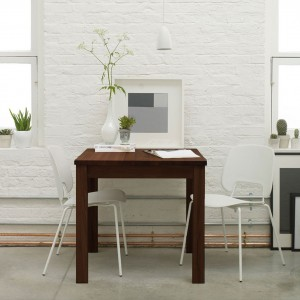 Marco walnut extending dining table