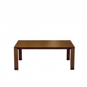 Mason straight leg PB1 walnut dining table