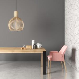 Mason metal leg PB3 oak extending dining table