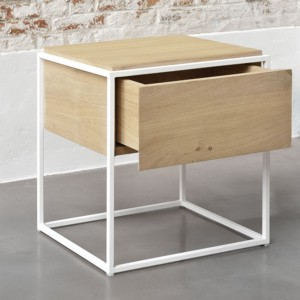 Ethnicraft Oak Monolit Bedside tables