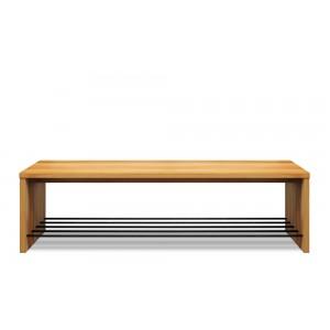 Vestibule shoe bench