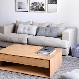 Stupendous Solid Oak Coffee Tables Modern Oak Living Room Furniture Interior Design Ideas Philsoteloinfo