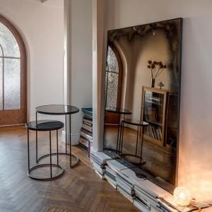 Notre Monde Bronze Heavy aged mirror - wide