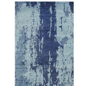 Ambient rug - Painterly blue