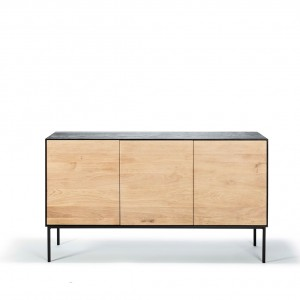 Ethnicraft Oak Blackbird sideboard - 3 doors