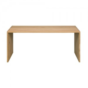 Ethnicraft Oak office U desk - 140 cm