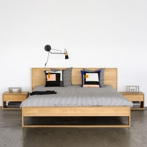 Ethnicraft Oak Nordic II beds
