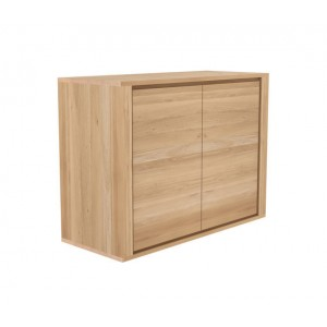 Ethnicraft Oak Shadow sideboard 109cm - 2 doors