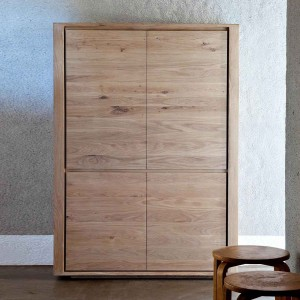 Ethnicraft Oak Shadow storage cupboard