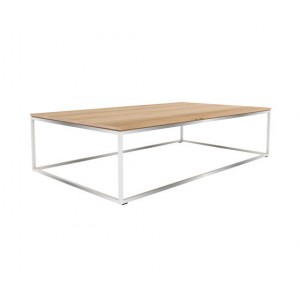 Ethnicraft Oak Thin coffee table 120cm