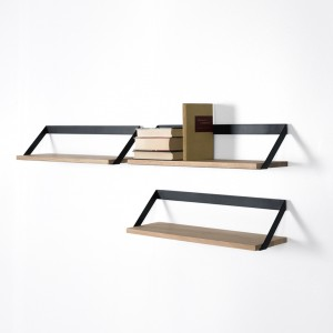 Ethnicraft Oak Ribbon shelves - 70cm