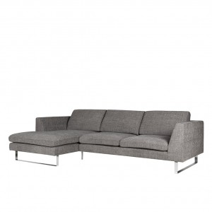 Tribeca corner leather sofa - set 1
