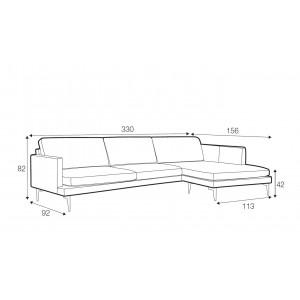 Luma corner sofa - set 5