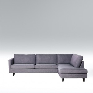 Blade corner leather sofa - set 5