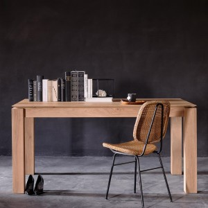 Ethnicraft Slice oak dining tables