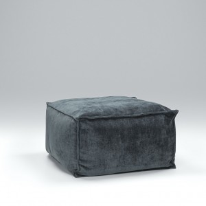 Slouch footstool 75 x 75cm