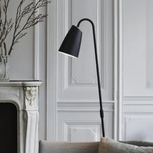 Swan Floor Lamp - Black