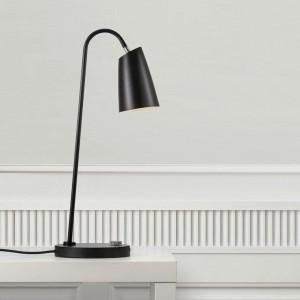 Swan Table Lamp - Black
