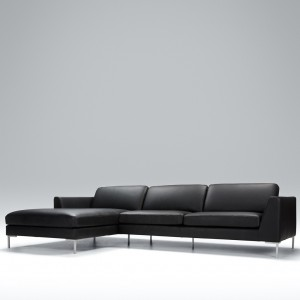 Tahoe corner leather sofa - set 1