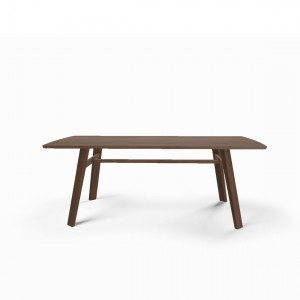 Tate walnut dining table