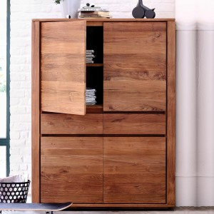 Ethnicraft Teak Elemental storage cupboard