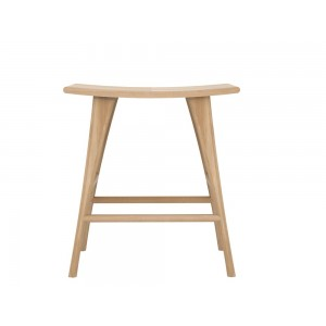 Ethnicraft Oak Osso stool high