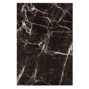 Thunder Rug - Black marble