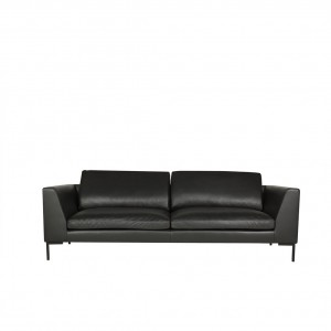 Tribeca 3 seater leather sofa